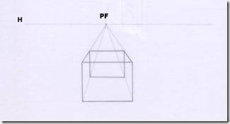 Dessin et peinture vid o 485 etude d 39 une perspective g om trique r alis e l 39 aquarelle - Chambre en perspective frontale ...