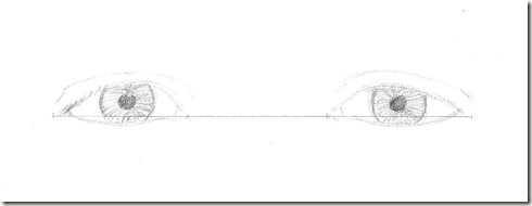 dessin yeux 3