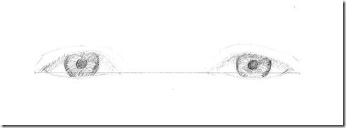 dessin yeux 5