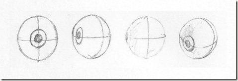 dessiner des yeux