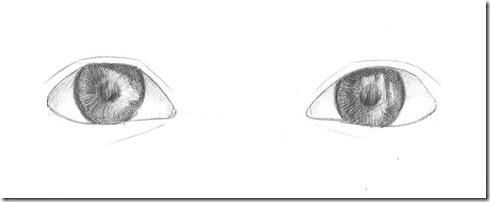 yeux dessin 9