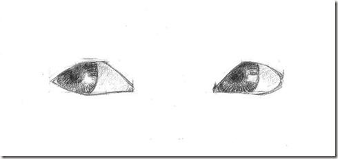 Apprendre dessiner les yeux de trois quarts - Dessin yeux facile ...