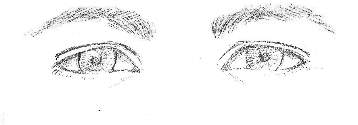 photo comment dessiner une yeux