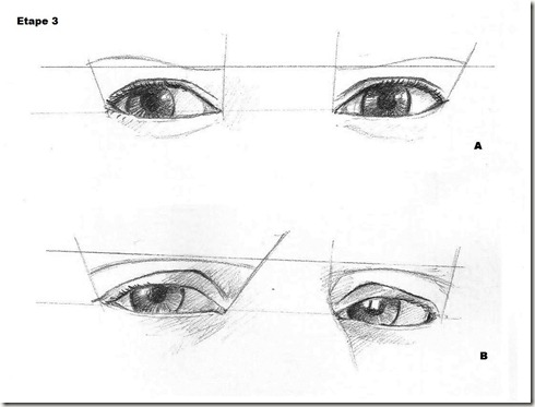 comment dessiner oeil