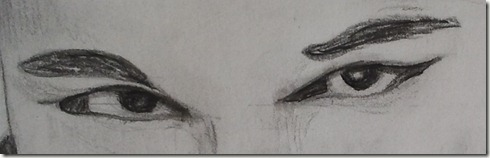 correction dessin lili yeux