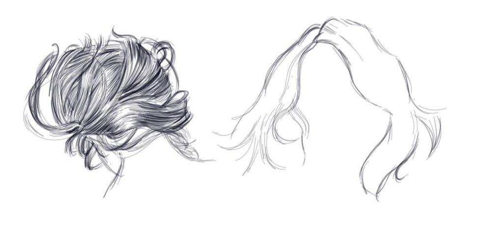 apprendre a dessiner des cheveux