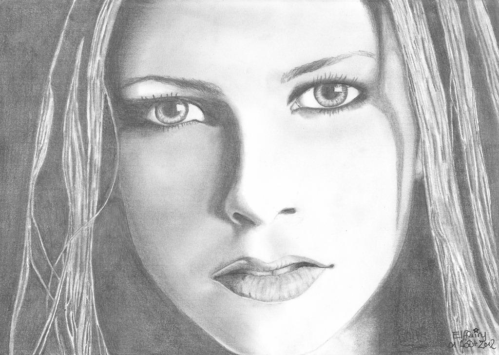 Correction Du Portrait De Corinne