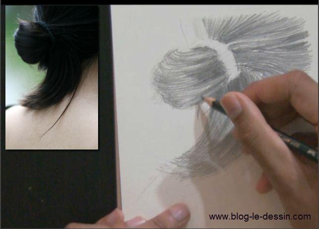 les d tails dessiner les cheveux 5 5. Black Bedroom Furniture Sets. Home Design Ideas