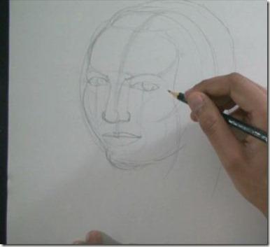 apprendre à dessiner un visage 6
