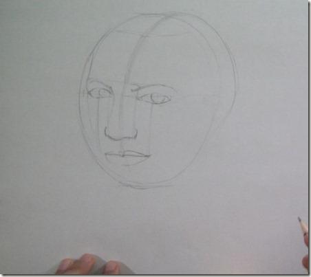 comment apprendre à dessiner un visage7