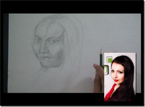 comment apprendre à dessiner un visage