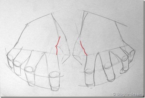 Connaissez vous ces tapes pour apprendre dessiner une main - Dessin de mains ...