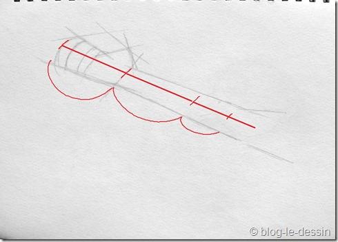 dessiner une main 1 rapport avant bras