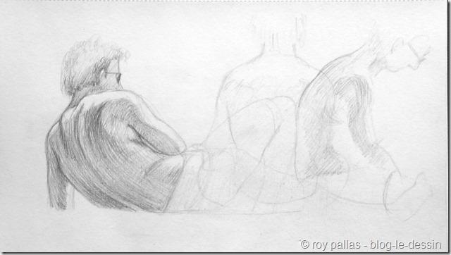 Relativ Pourquoi apprendre à dessiner une personne sur le vif? GQ95
