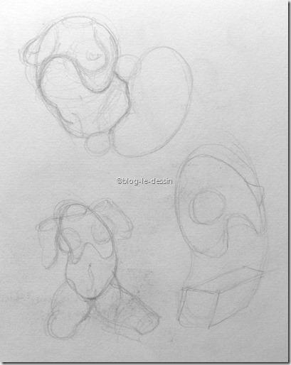 apprendre à dessiner par étape 5