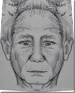 portrait de face symétrique 2