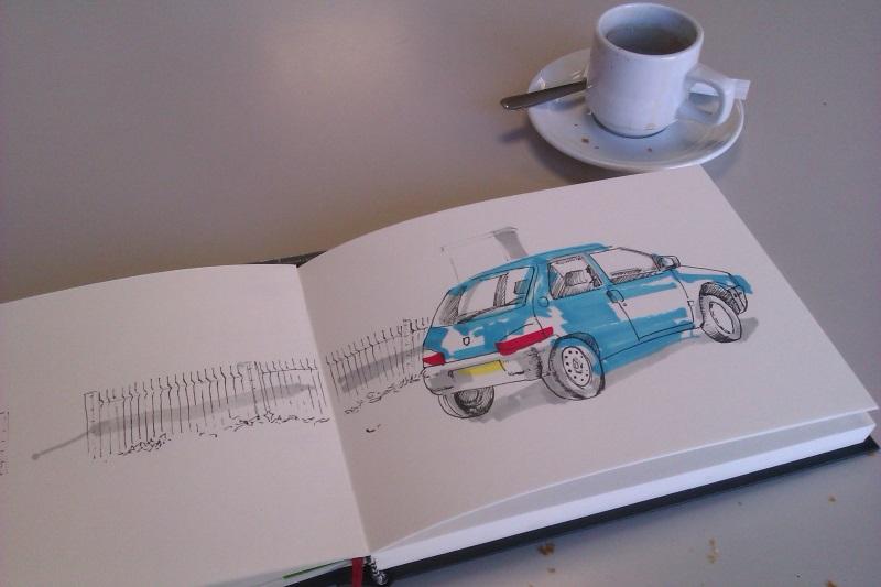 Apprendre à dessiner en buvant son café à Toulouse