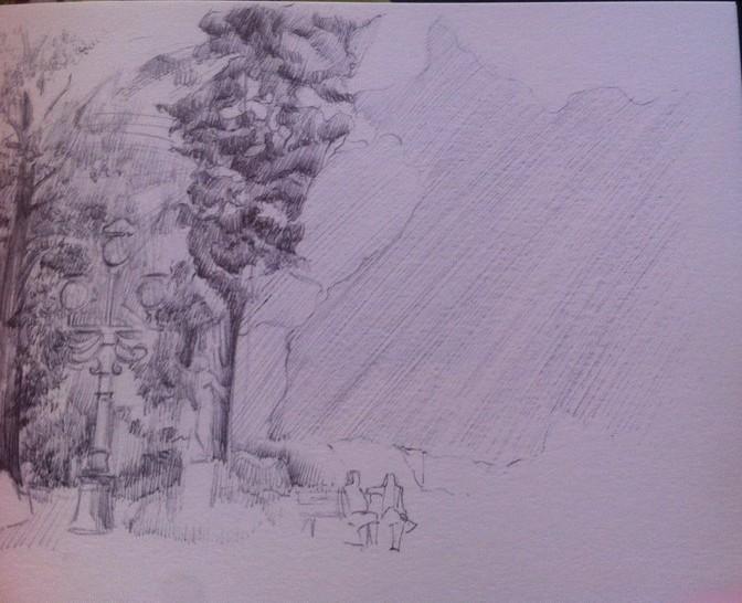 Apprendre dessiner un paysage - Dessiner un paysage ...