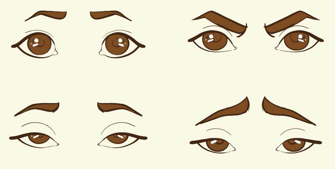 apprendre à dessiner des sourcils