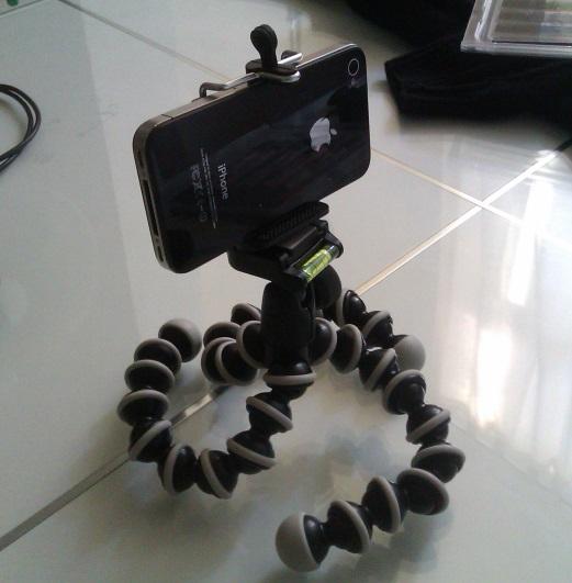 L'installation pour filmer mon croquis