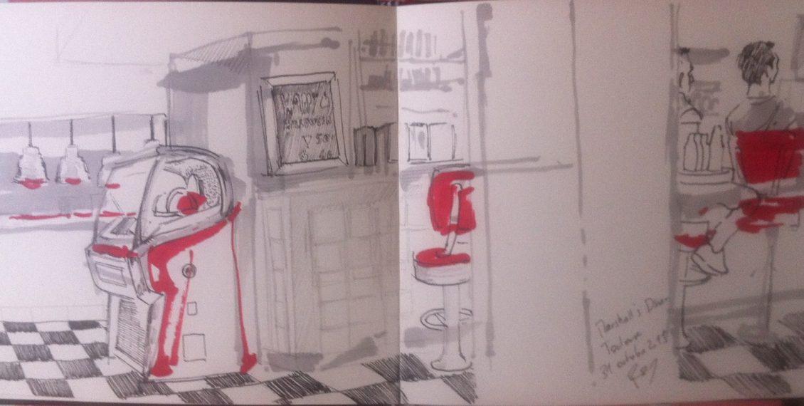 Apprendre à dessiner dans une ambiance 60's