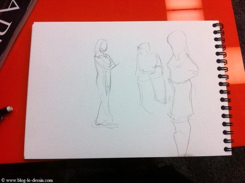 apprendre à dessiner sur le vif en utilisant 3 types de traits