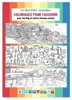 guide du coloriage pour facebook