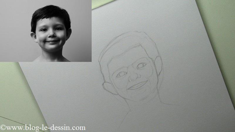 Si vous voulez dessiner un portrait réaliste, vous devez avoir une idée précise de la proportion d'ombre sur le visage.