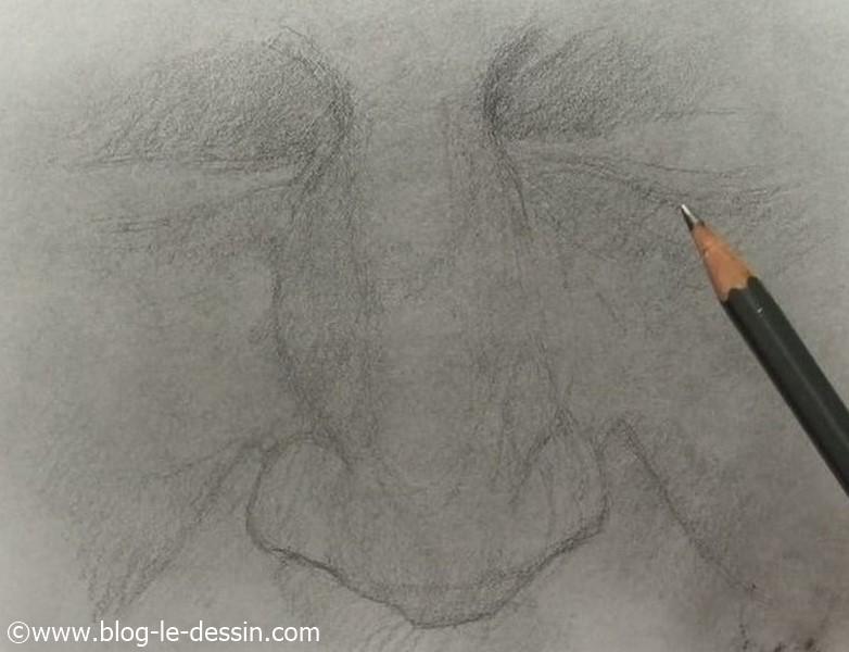 les tapes simples pour apprendre dessiner un nez. Black Bedroom Furniture Sets. Home Design Ideas