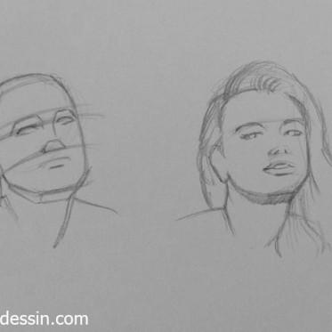 apprendre dessiner un visage ce n est pas ce que vous croyez. Black Bedroom Furniture Sets. Home Design Ideas