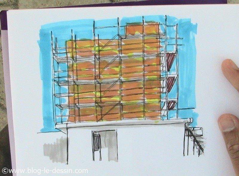 dessiner architecture simple résultat