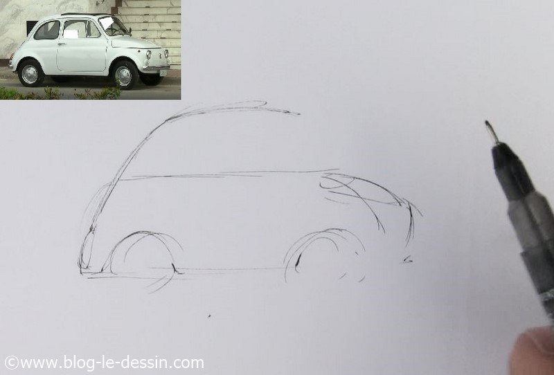 Dessiner une voiture facile 3 - Dessiner une voiture facile ...