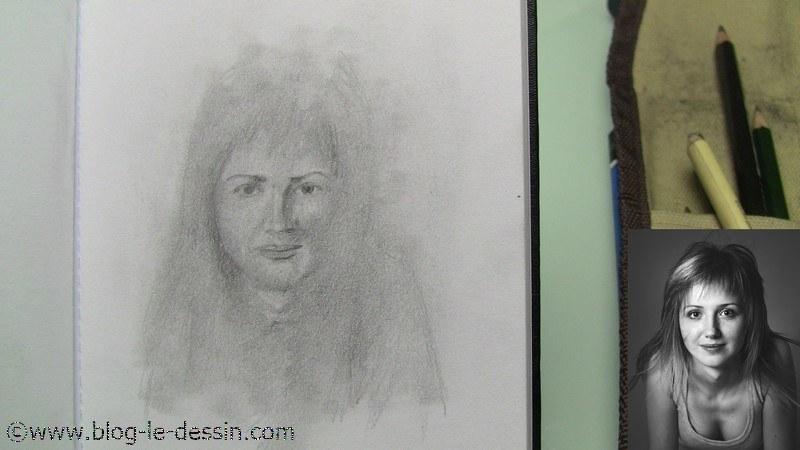 mini-portrait modele degrade