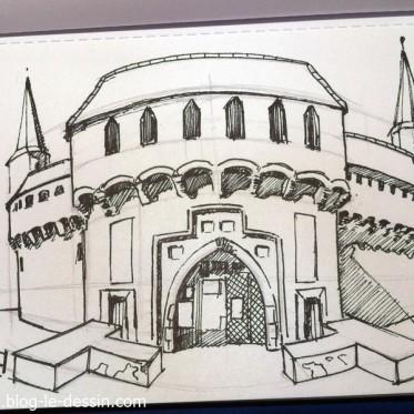 Dessin facile perspective des id es novatrices sur la for Apprendre a dessiner une maison