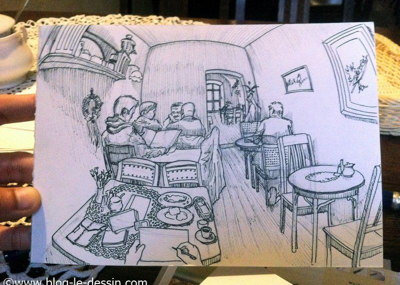 dessiner perspective encrer le dessin