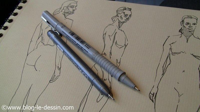 Illustration des deux feutres dont le Faber-Castell que je test dans cet article