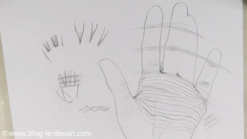 dessiner erreurs main