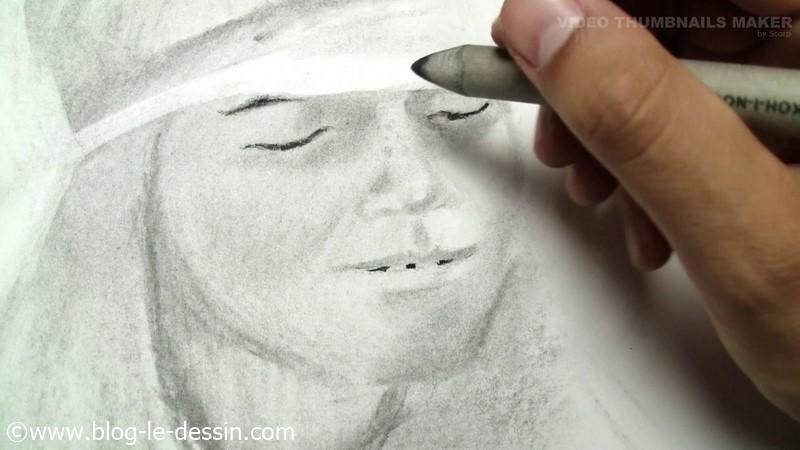 Blanc et les souillures sur la peau
