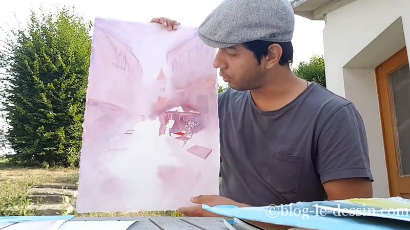 peinture aquarelle stage prischedko