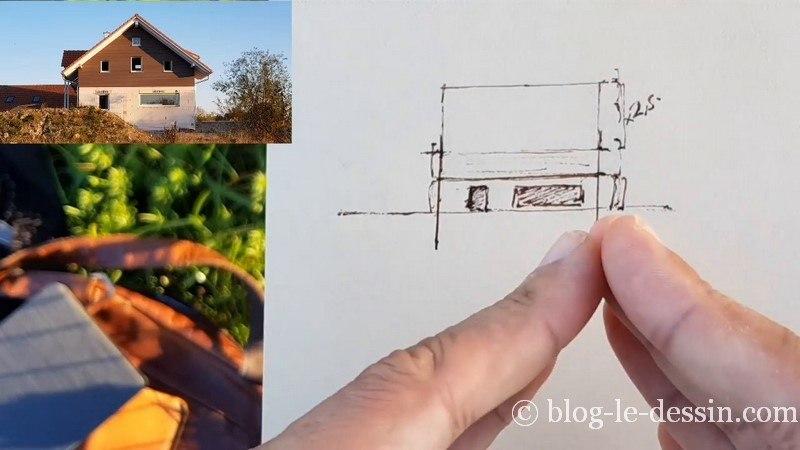 dessiner le second etage de la maison