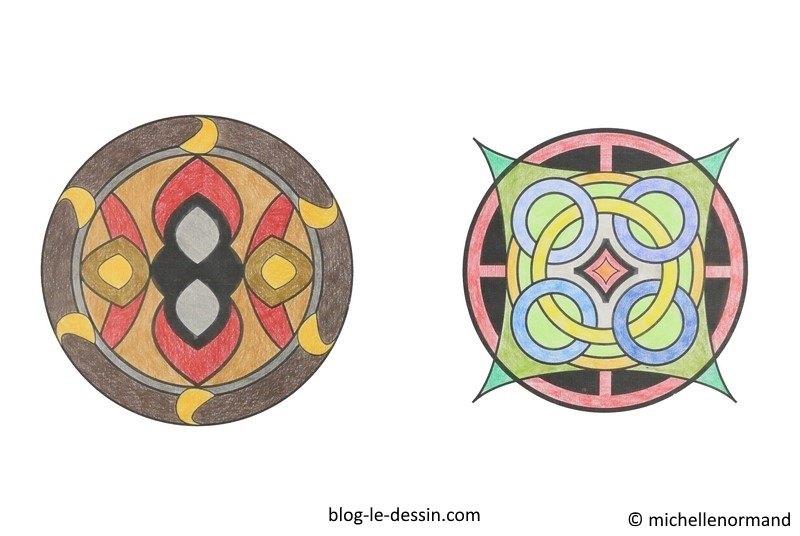 Faire un coloriage anti-stress, coloriage mandala, coloriage adulte, coloriage rosaces