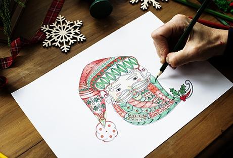 pratiquer l'art-thérapie : coloriage