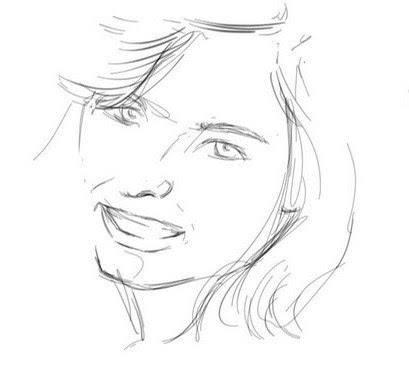 dessiner des sourcils fins