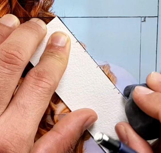 mesurer les bonnes proportions en dessin