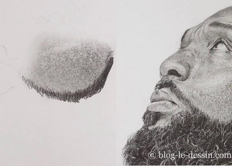 dessin de portrait réaliste