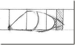 apprendre à dessiner des yeux de trois quarts