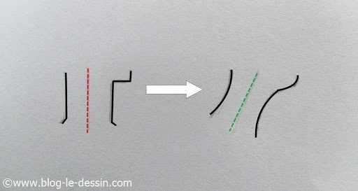 dessiner un cou