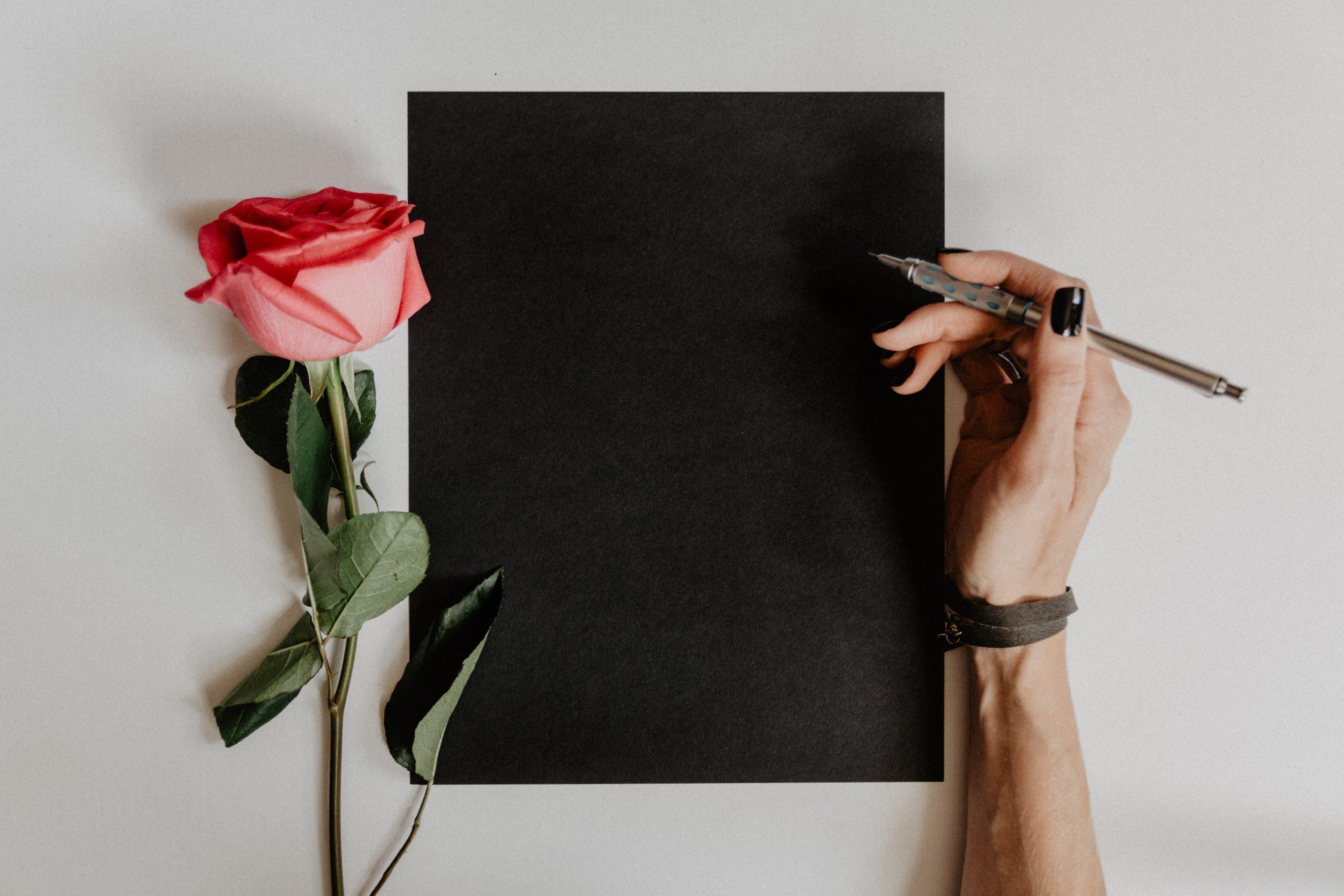 dessiner une rose tuto