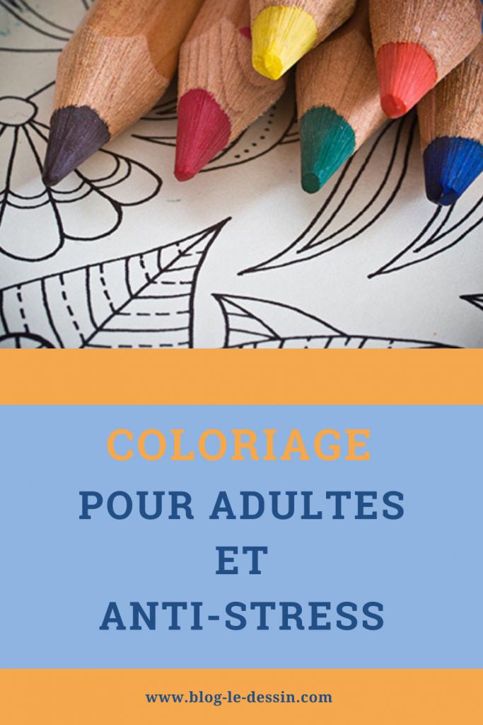 coloriage pour adulte et anti-stress