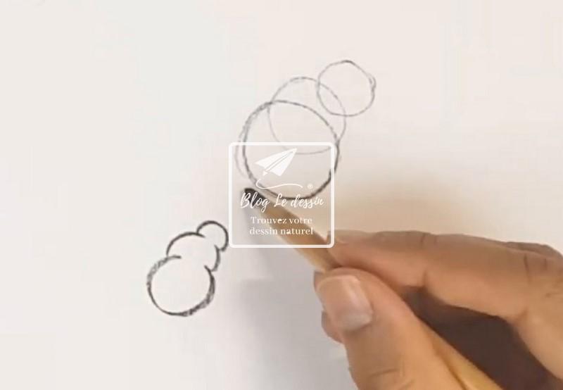 astuce de dessin pour les raccourcis